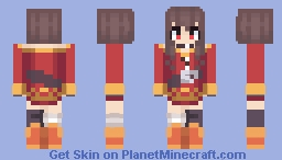 KonoSuba - Megumin Minecraft Skin