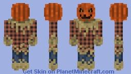 Halloween Scarecrow Minecraft Skin