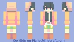 amano yukiteru Minecraft Skin