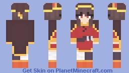 Megumin Minecraft Skin