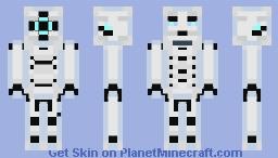 Cryo Steel Minecraft Skin