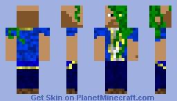 sunken sailor Minecraft Skin