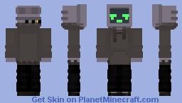 tv guy Minecraft Skin