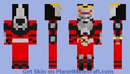Kamen Rider Ryuki Minecraft Skin