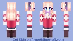 Azur Lane - HMS Leander (Kai) Minecraft Skin
