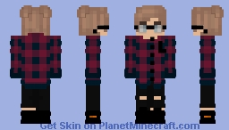 Just a common EBoy Minecraft Skin