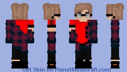 Just a common EBoy V2 Minecraft Skin