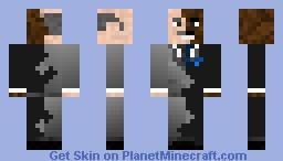 Dr Phil/Steve Harvey two face Minecraft Skin