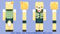 Isabelle Minecraft Skin
