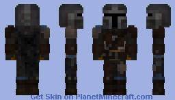 The Mandalorian - Star Wars Minecraft Skin