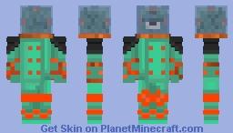 Guardian Buceador Minecraft Skin