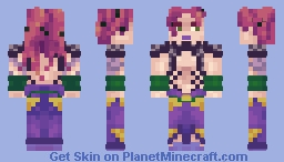 Diavolo (super secret boss man!) [JJBA] Minecraft Skin
