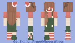 〈 𝓟𝖎𝖈𝓴𝖑𝖊𝕮𝖆𝖙〉 Christmas Mash Dungarees Minecraft Skin