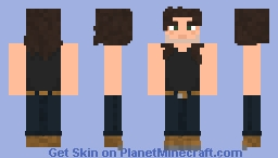 Malcolm Young Black Ice Tour Minecraft Skin