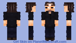 "Mikhail ""Gorshok"" Gorshenev ~ [The King and The Jester] Minecraft Skin Minecraft Skin"