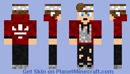 Bandanna Boy With AirPods Minecraft Skin