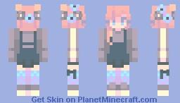 tu me regardes Minecraft Skin
