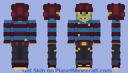 murdoc niccals (gorillaz) Minecraft Skin