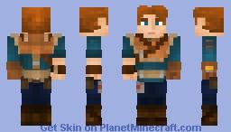 Cal Kestis - Jedi Fallen Order Minecraft Skin