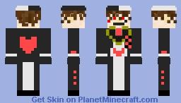 Jack Heart Minecraft Skin