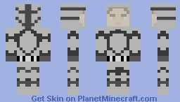 Outbreak Series: Advanced Bio-hazard Suit Minecraft Skin