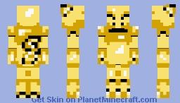 Abra (Game Boy) Minecraft Skin