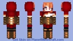 Little red Minecraft Skin