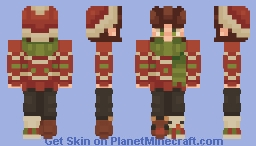 let it snow Minecraft Skin