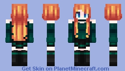 Home for the Holidays Minecraft Skin
