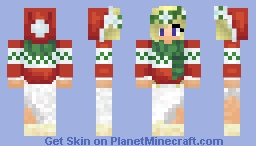 xLucyfer (Christmas skin) Minecraft Skin
