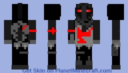 Black Knight (Fortnite) Minecraft Skin