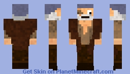 Cotton (from Pirates of the Caribbean) Minecraft Skin