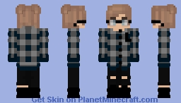 Just a common EBoy V3 Minecraft Skin