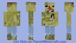 Harold (Fallout 1) Minecraft Skin