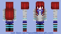 Made-In-School Series #4 Minecraft Skin