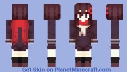 Kagerou Project - Ayano Tateyama Minecraft Skin