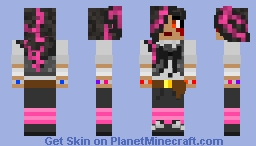 (Fixed Version) Punk Indie Band Member #1 (Fixed Version) Minecraft Skin