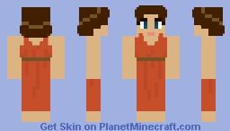 Lower Class Roman Woman - Ancient Rome Minecraft Skin
