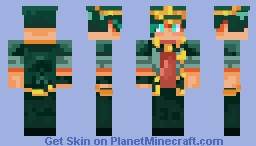 Jouta Kujo Minecraft Skin