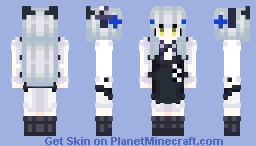 "GFL (Girls' Frontline) - HK416 (""Black Cat's Gift"") Minecraft Skin"