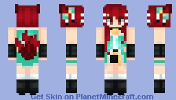 | The Very Curious Kitsune | ~* Marma *~ Minecraft Skin