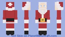 Look, It's Santa Claus! Minecraft Skin
