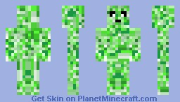 Plant Man Two Minecraft Skin