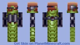 The Radichoke Minecraft Skin