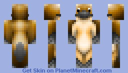 Platypus (with Agent P colorized version) Minecraft Skin