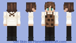 CookieBoy Baker Minecraft Skin