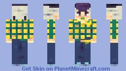 Josefumi Kujo ゴゴゴ Minecraft Skin