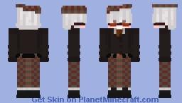 High-Class Glassess Minecraft Skin