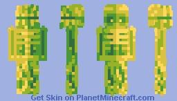 Tribes man of the green    elemental palette event ☆ skin edition! Minecraft Skin