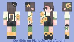 {Skindex RCE} Some Awfully Sunny Sunflowers.. 〈𝓟𝖎𝖈𝓴𝖑𝖊𝕮𝖆𝖙〉 Minecraft Skin
